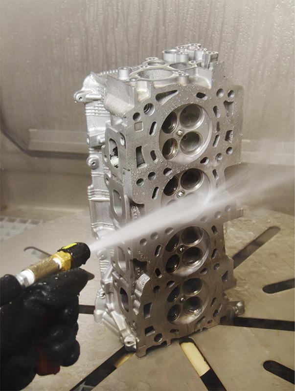 diesel reman wet blast cabinet